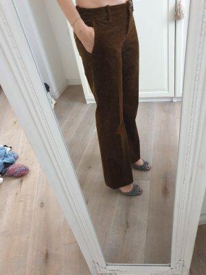 Hugo Boss Pantalon en velours côtelé brun-cognac