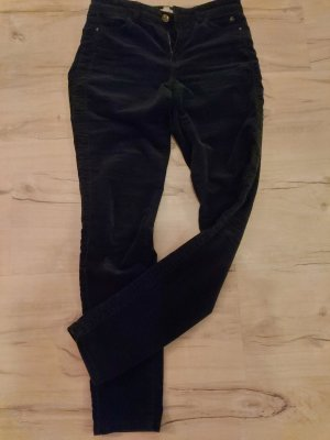 Esprit Corduroy Trousers dark blue