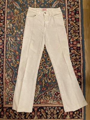Closed Corduroy broek licht beige Katoen