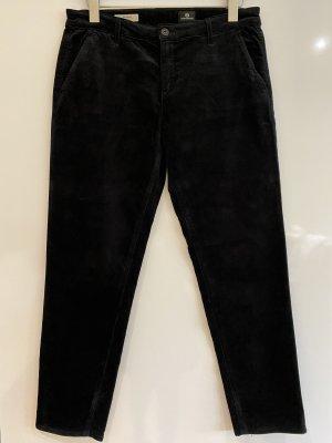 Adriano Goldschmied Corduroy Trousers black cotton