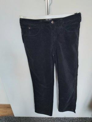 Armani Jeans Corduroy Trousers black
