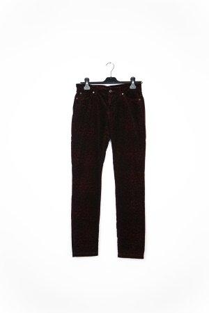 MAC Jeans Pantalon en velours côtelé blanc