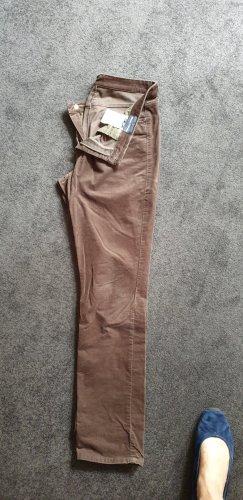Marc O'Polo Pantalon en velours côtelé chameau coton