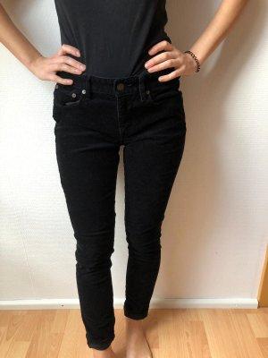 Lauren Jeans Co. Ralph Lauren Corduroy broek zwart