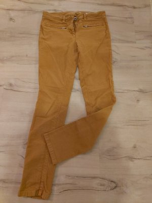 Tom Tailor Corduroy Trousers yellow