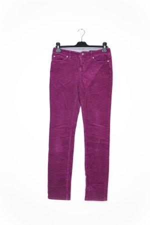 Tommy Hilfiger Pantalone di velluto a coste grigio-lilla