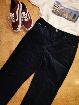 Arizona Corduroy Trousers dark blue