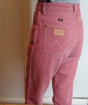 Wrangler Corduroy Trousers dusky pink