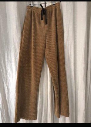 Zara Corduroy Trousers multicolored