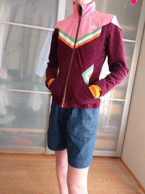 Adidas Sztruksowa kurtka Wielokolorowy