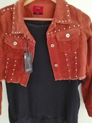 Daysie Cord Jacket cognac-coloured-russet