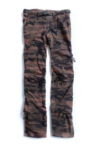 "CORDON camouflage Military Cargo Baggy Hose Bermuda ""26"" XS"