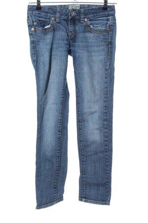 Cordon Jeans vita bassa blu stile casual