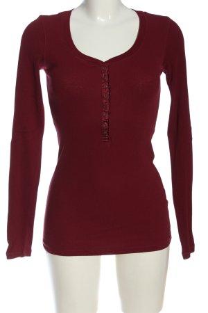 Cordon Camicia lunga rosso stile casual