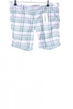 Cordon Shorts Karomuster Casual-Look