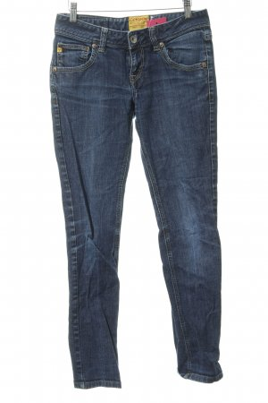 Cordon Slim Jeans dunkelblau Casual-Look