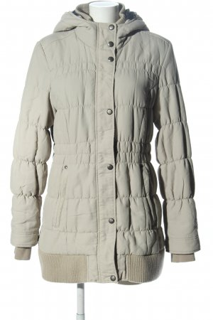 Cordon Winterjacke hellgrau Steppmuster Casual-Look