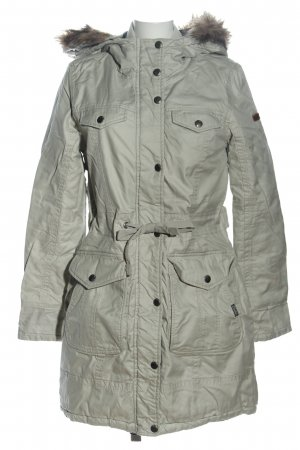 Cordon Winterjacke hellgrau Casual-Look
