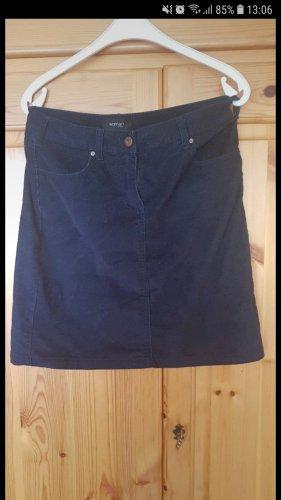 Woman by Tchibo Wool Skirt dark blue