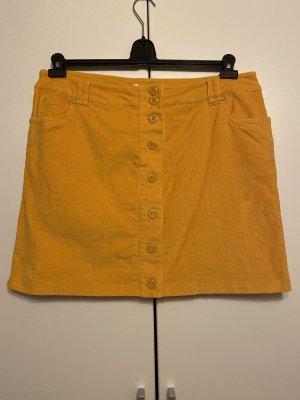 bpc Miniskirt light orange-yellow