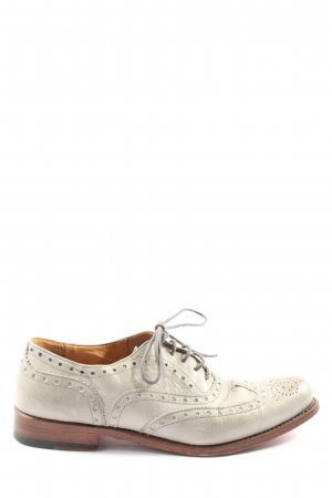 Cordwainer Wingtip Shoes natural white-brown casual look