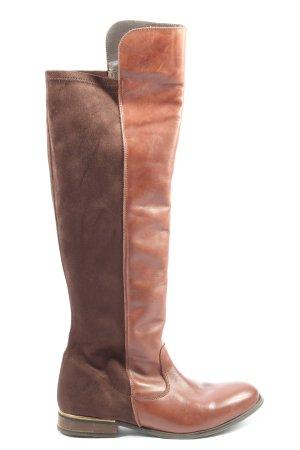 Corkies Wysokie buty na obcasie brązowy W stylu casual