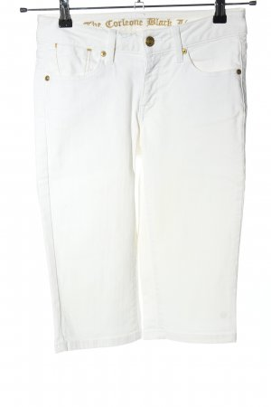 Corleone 3/4 Length Jeans white casual look
