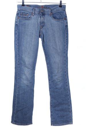 Corleone Boot Cut Jeans blau Casual-Look