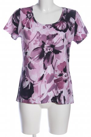 Corley Print-Shirt pink Allover-Druck Casual-Look