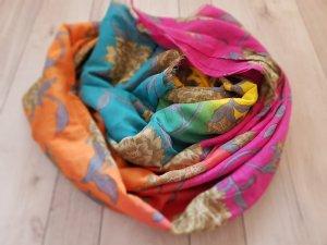 cornici Écharpe en soie multicolore