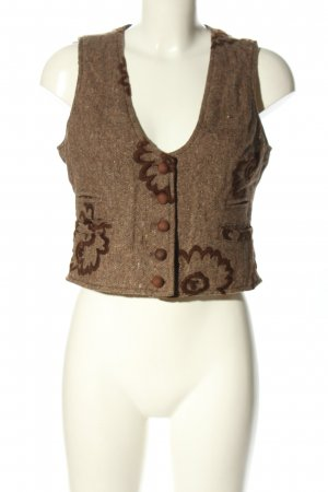 Corpo Nove Traditional Vest bronze-colored flecked casual look