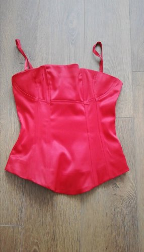H&M Corsage Top red