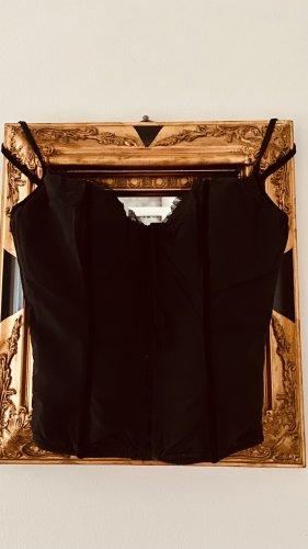 100% Fashion Gorset czarny