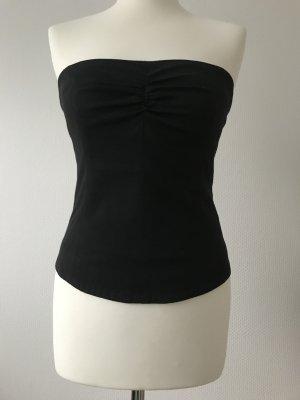 Jones Haut type corsage noir coton