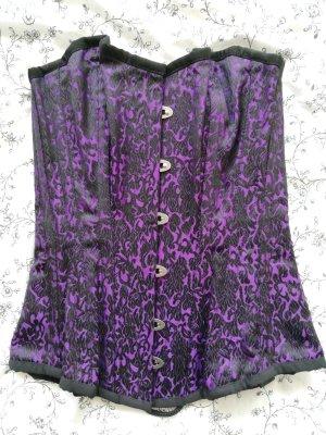 Burleska Corsage black-lilac