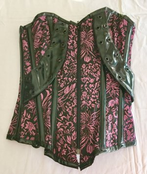 Corsage rose-noir polyester
