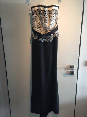 Corsagen-Abendkleid mit Stola