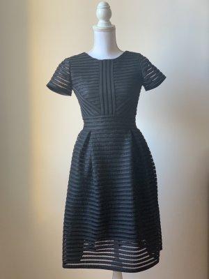 Corsagen Schwarz Kleid
