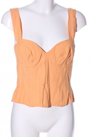 Corsagen Top hellorange Casual-Look