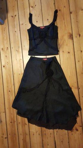Corsagenkleid Abendkleid schwarz, 36, DERHY, festlich, romantisch