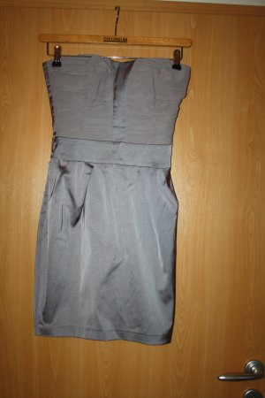 Orsay Corsage Dress grey polyester
