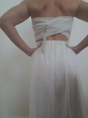 Only Sukienka z gorsetem biały