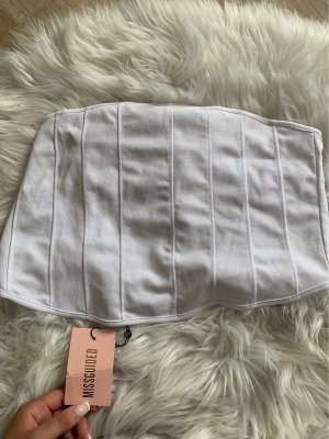 Missguided Cropped top wit