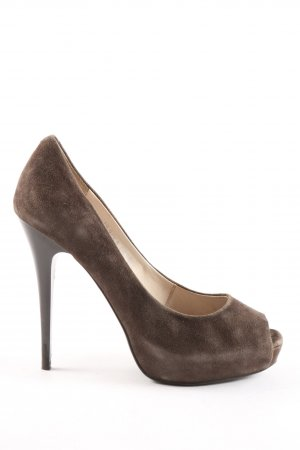 Corso Como Peeptoe Pumps braun Casual-Look