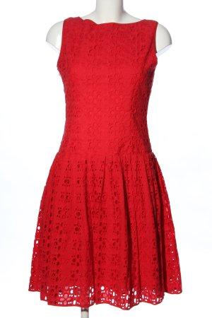 Cortefiel Cocktailkleid rot Elegant