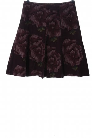 Cortefiel Flared Skirt allover print casual look