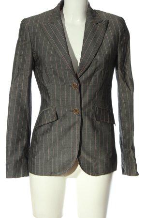 Cortefiel Klassischer Blazer light grey flecked business style