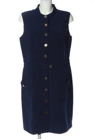 Cortefiel Midi Dress blue casual look