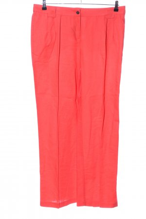 Cortefiel Stoffhose rot Casual-Look