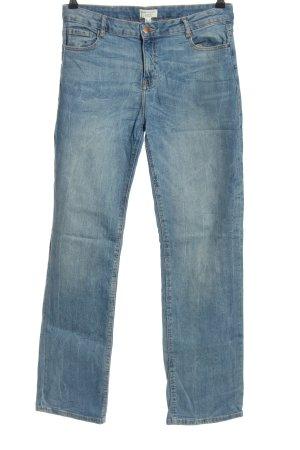 Cortefiel Jeans a gamba dritta blu stile casual